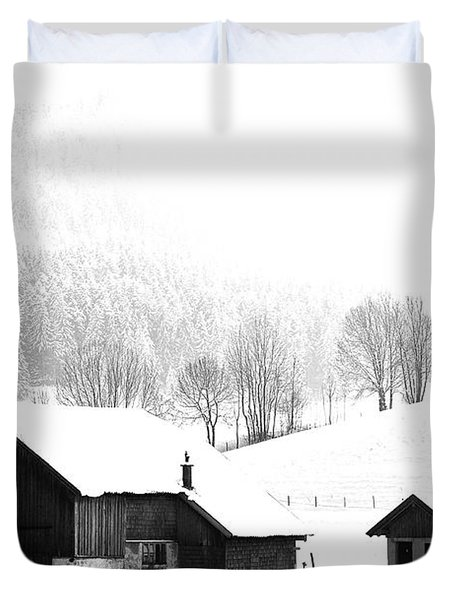 Seen Many Storms Duvet Cover by Sabine Jacobs