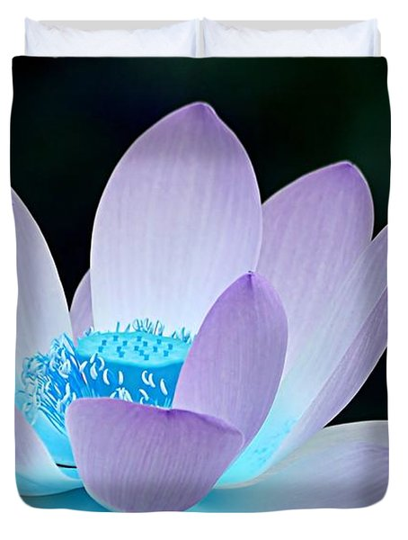 Serene Duvet Cover by Photodream Art