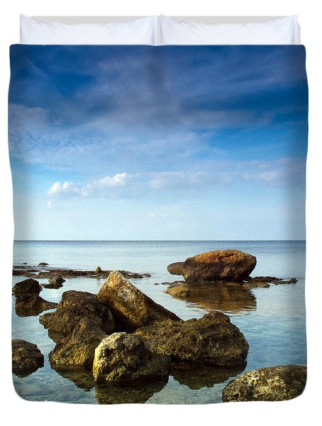 Serene Duvet Cover by Stylianos Kleanthous