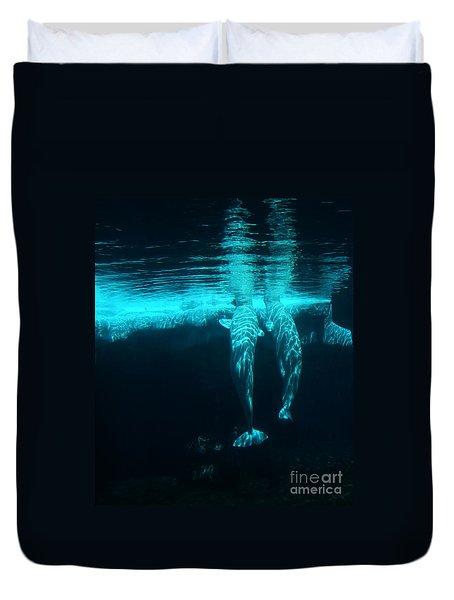 Serenity  Duvet Cover by Linda Knorr Shafer
