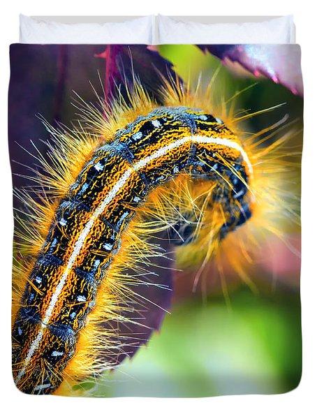 Shagerpillar Duvet Cover by Bill Tiepelman
