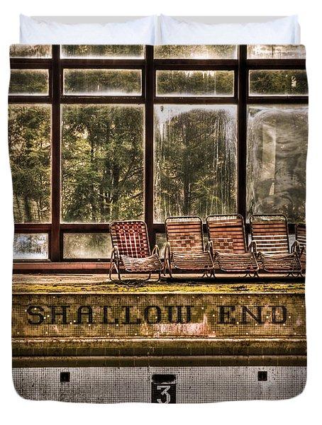 Shallow End Duvet Cover by Evelina Kremsdorf