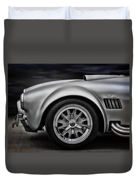 Shelby Cobra Gt Duvet Cover by Douglas Pittman