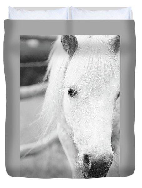 Shetland Pony Duvet Cover by Tina Lee