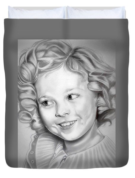 Shirley Temple Duvet Cover by Fred Larucci