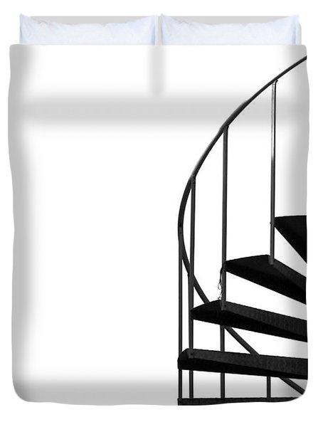 Side Entrance Duvet Cover by Evelina Kremsdorf