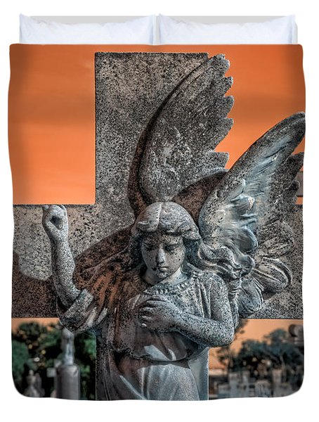 Silent Vigil Duvet Cover by Wayne Sherriff
