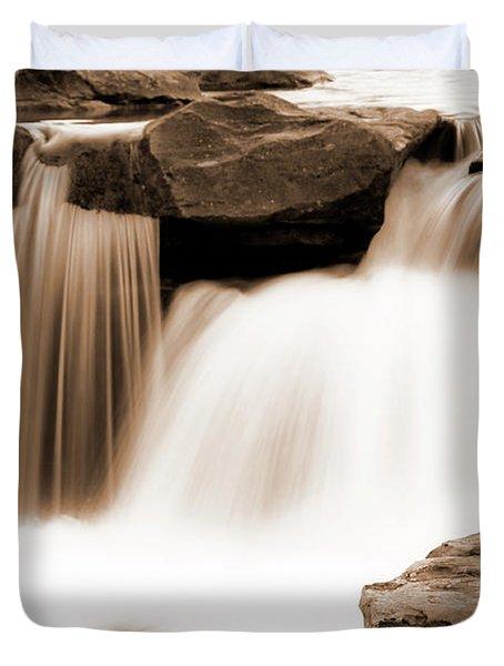Silken Waters Duvet Cover by Tamyra Ayles