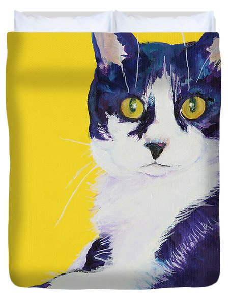Simon Duvet Cover by Pat Saunders-White