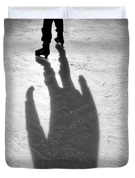 Skater Duvet Cover by Dave Bowman