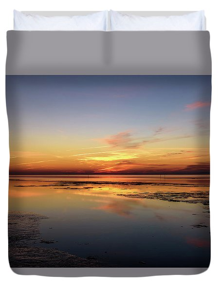 Duvet Cover featuring the photograph Slave To Your Mind by Thierry Bouriat