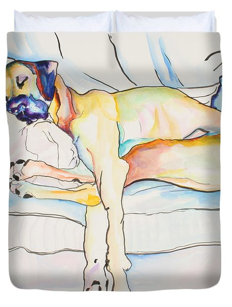 Sleeping Beauty Duvet Cover by Pat Saunders-White