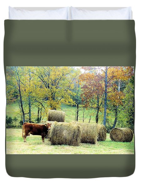 Smorgasbord Duvet Cover by Jan Amiss Photography