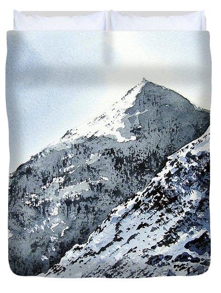 Snowdon Duvet Cover by Paul Dene Marlor
