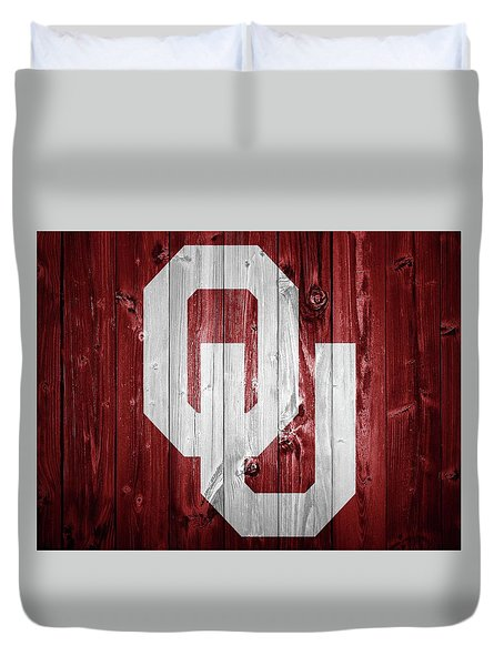 Sooners Barn Door Duvet Cover by Dan Sproul