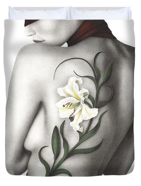 Sorrow Duvet Cover by Pat Erickson