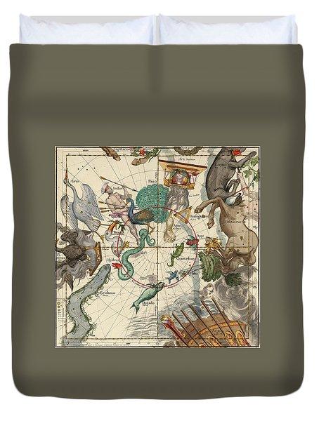 South Pole Duvet Cover by Ignace-Gaston Pardies