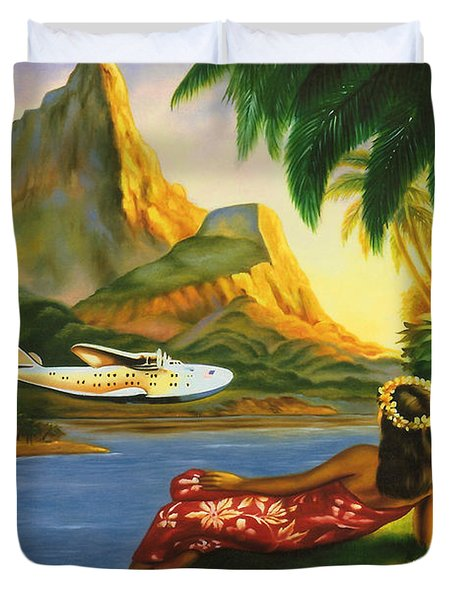 South Sea Isles Duvet Cover by Nomad Art And  Design