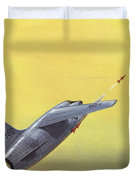 Sparrow Air To Air Missile  Duvet Cover by American School