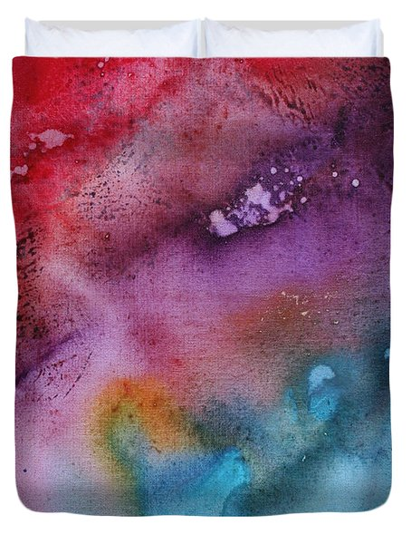 Speak To Me 2 By Madart Duvet Cover by Megan Duncanson