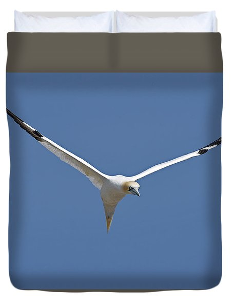 Speed Adjustment Duvet Cover by Tony Beck