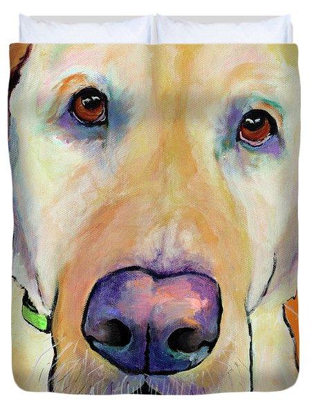 Spenser Duvet Cover by Pat Saunders-White