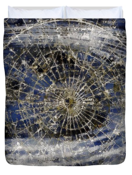 Spinning Away Duvet Cover by RC DeWinter