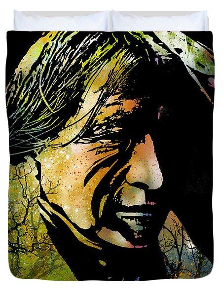 Spirit Of The Land Duvet Cover by Paul Sachtleben