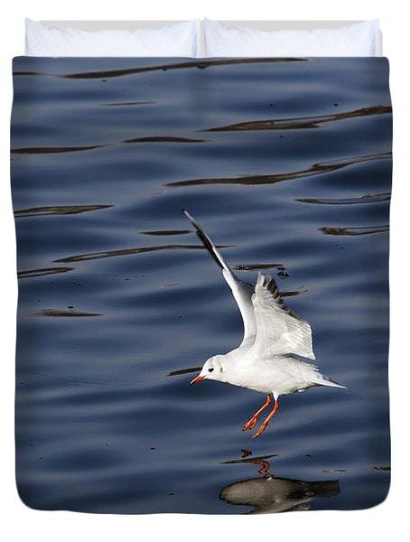 Splashdown Duvet Cover by Michal Boubin
