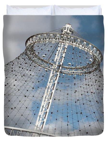 Spokane Pavilion Duvet Cover by Carol Groenen