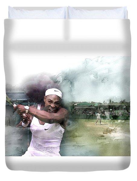 Sports 18 Duvet Cover by Jani Heinonen