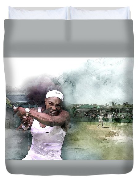 Sports 18 Duvet Cover by Jani Heinonen