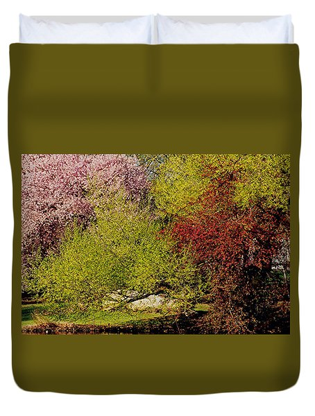 Spring Colors Duvet Cover by Juergen Roth