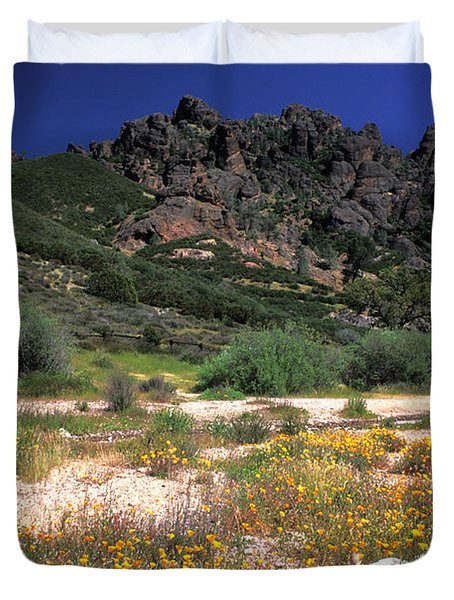 Spring in the Pinnacles Duvet Cover by Kathy Yates