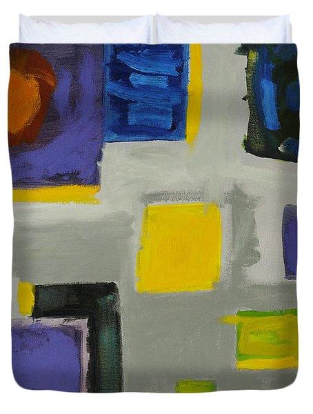 Squares Duvet Cover by Katie OBrien - Printscapes