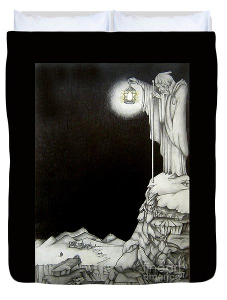 Stairway To Heaven Duvet Cover by Patrice Torrillo