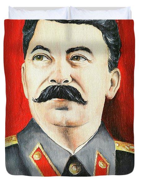 Stalin Duvet Cover by Michal Boubin