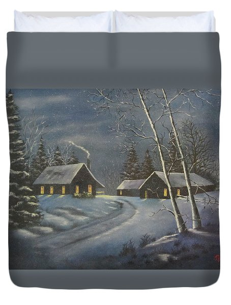 Starry Night Duvet Cover by Terry Boulerice