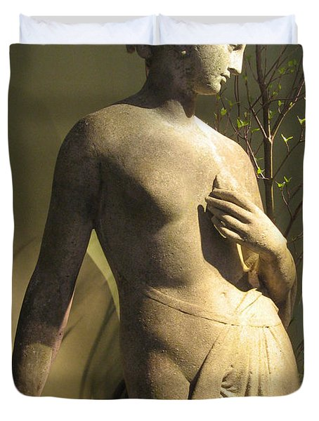 Statuesque Duvet Cover by Jessica Jenney