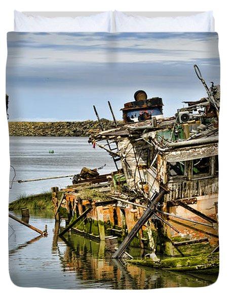 Still Afloat Duvet Cover by Heather Applegate