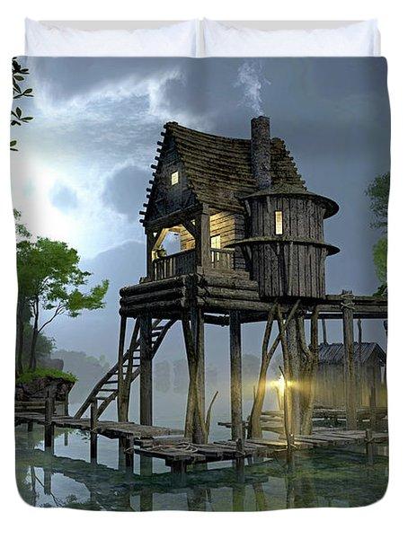 Stillwater Duvet Cover by Cynthia Decker