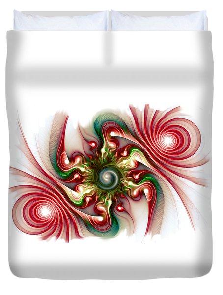 Stimulation Duvet Cover by Anastasiya Malakhova