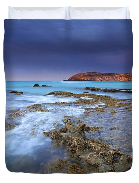 Storm Light Duvet Cover by Mike  Dawson