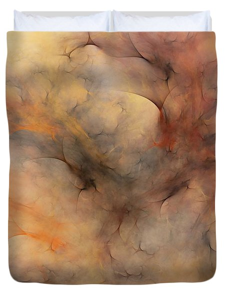Stormy Duvet Cover by David Lane