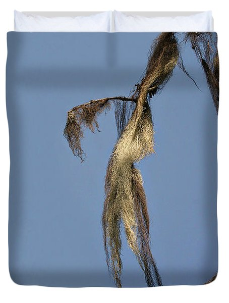 Strand Of Moss Swaying Gently With The Wind - Tiger Mountain Wa Duvet Cover by Christine Till