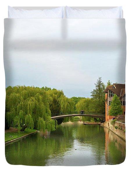 Stratford Upon Avon 2 Duvet Cover by Douglas Barnett