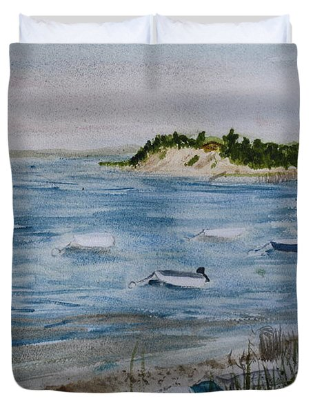 Strong Island Duvet Cover by Donna Walsh