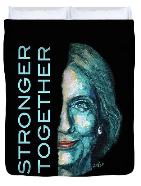 Stronger Together Duvet Cover by Konni Jensen