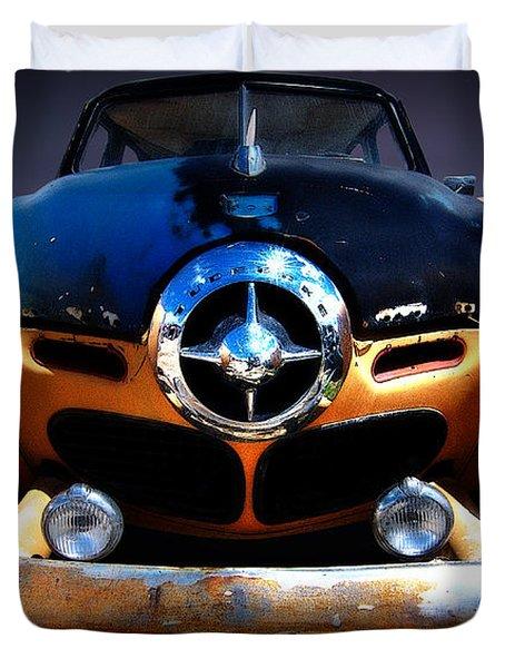 Studebaker Duvet Cover by Kurt Golgart