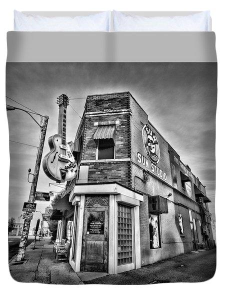 Sun Studio - Memphis #2 Duvet Cover by Stephen Stookey